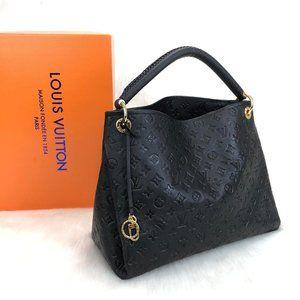 Louis Vuitton Artsy Empreinte Black Bag